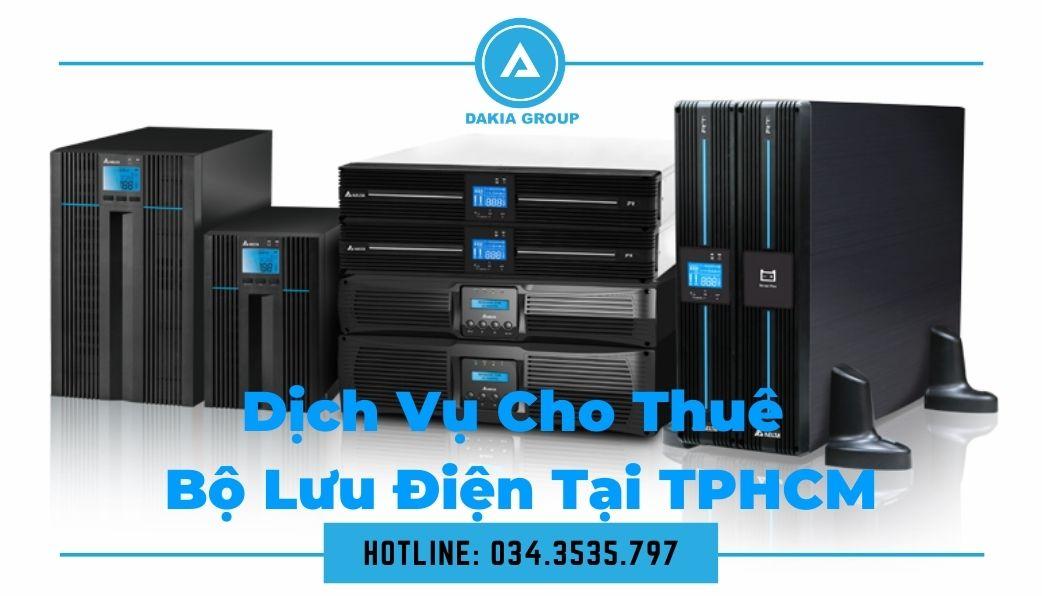 Dịch vụ cho thuê Bộ lưu điện UPS tại TP.HCM