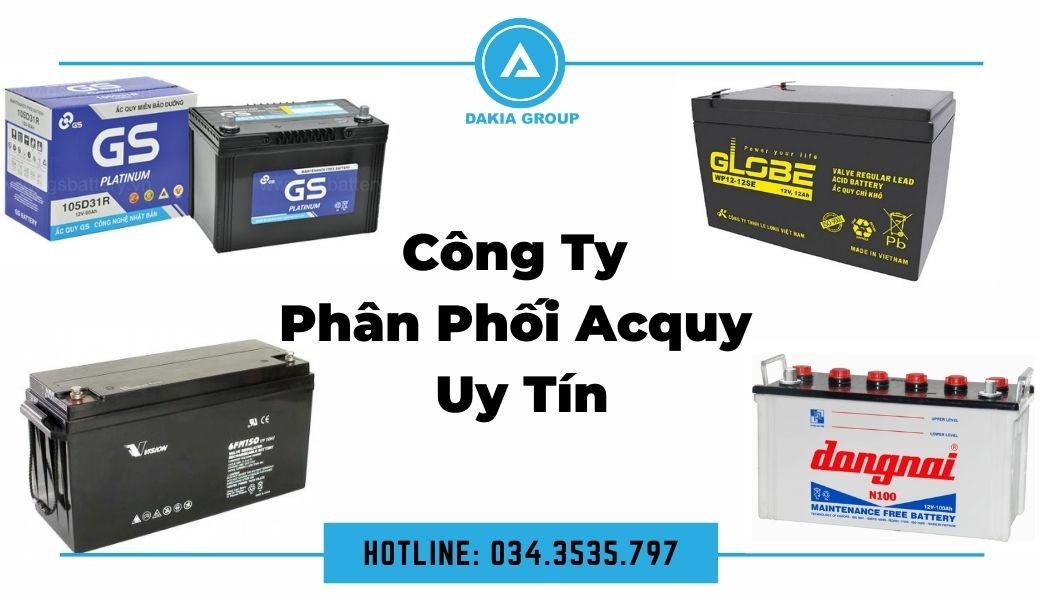 Công ty phân phối Dakia Group_Acquy giá tốt tại TPHCM