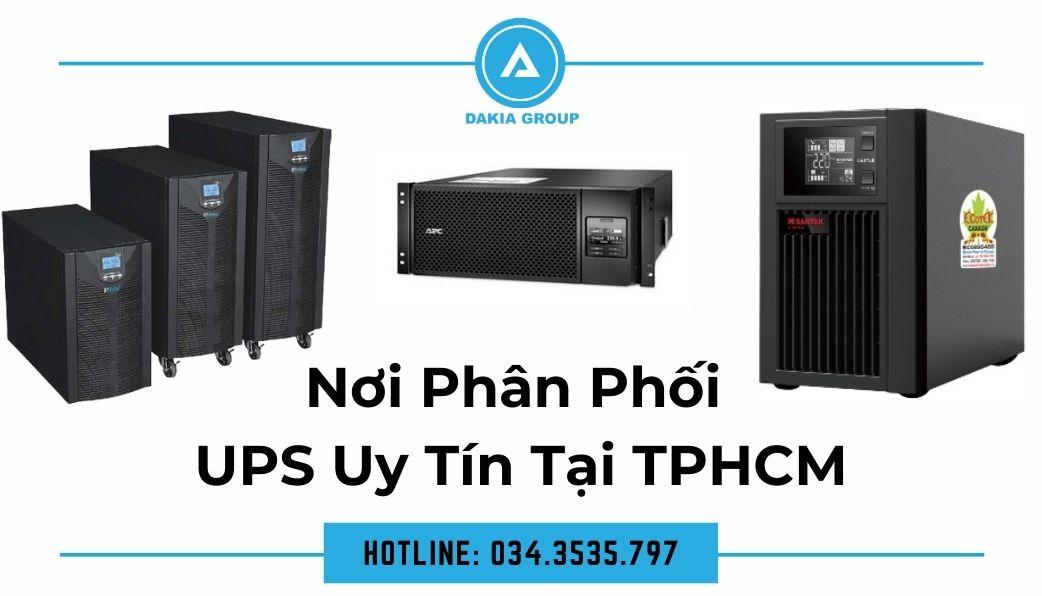 Công ty phân phối UPS uy tín tại TP.HCM