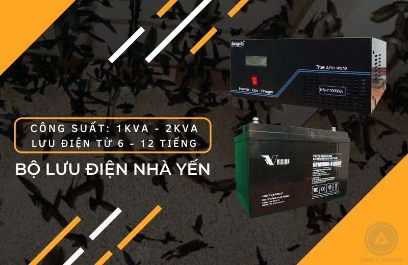 Giải pháp Bộ Lưu Điện cho nhà yến - 1KVA - 2KVA