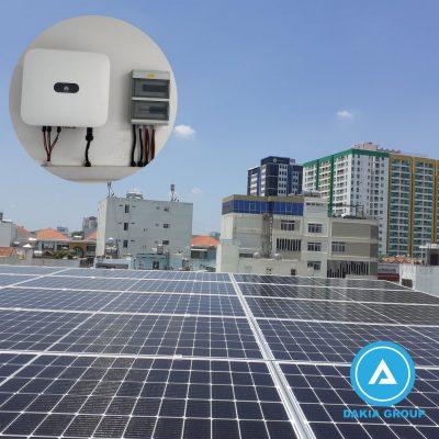 Điện năng lượng mặt trời Hòa lưới 17KW tại Tân Bình-TPHCM