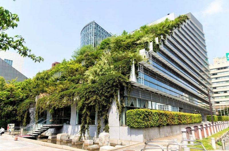 ACROS Fukuoka Foundation Building (Fukuoka, Nhật Bản)