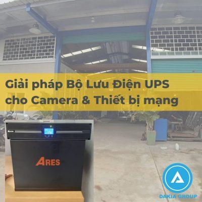 Dự án UPS Online 2KVA cho Hệ thống Camera và Thiết bị mạng tại Đồng Nai