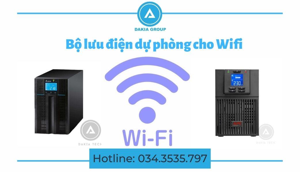 Bộ lưu điện dự phòng cho Wifi