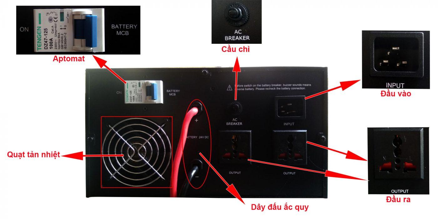 Sử dụng Bộ lưu điện như thế nào để an toàn và hiệu quả nhất