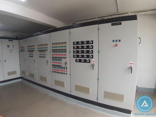 Hệ thống tủ sử dụng lắp đặt UPS
