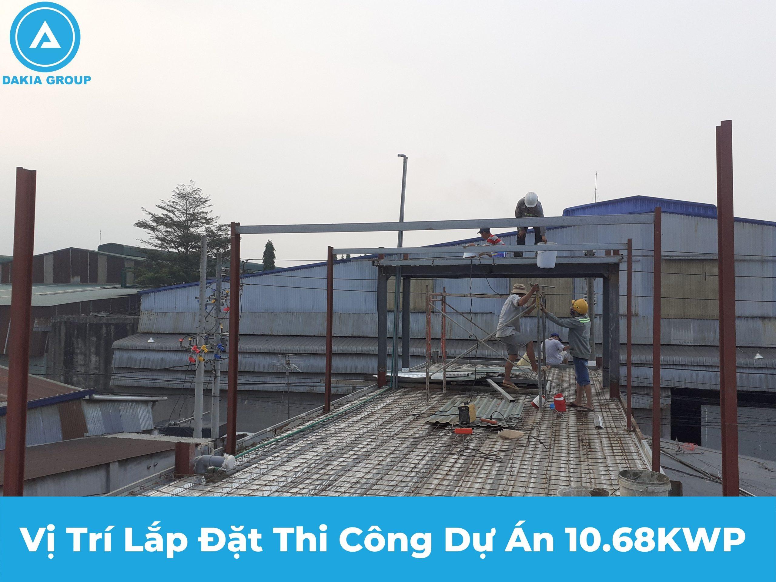 Khảo sát vị trì lắp đặt dự án 10.68kwp