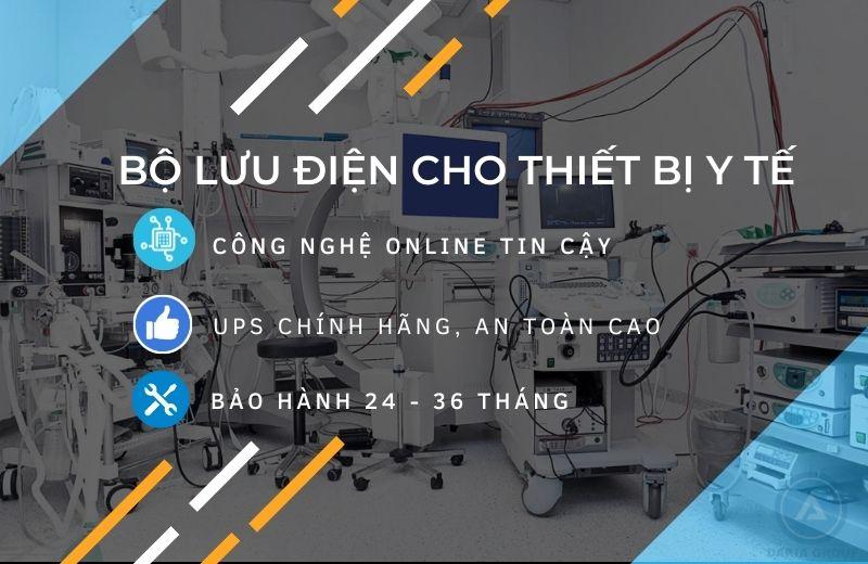 Dakia Tech cung cấp giải pháp Bộ Lưu Điện cho Thiết Bị Y Tế